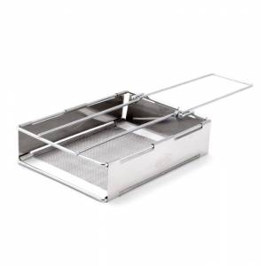 GSI Outdoors Glacier Stainless Toaster Metal Metal OneSize