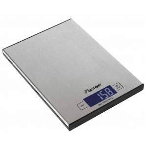 Bestron Elektrisk köksvåg AKS1000S Inox 5 kg