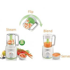 Philips Avent SCF870 - Blender og Steamer i ett