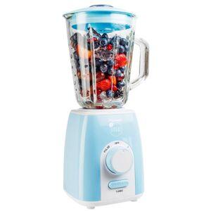 Bestron Mixer 1,5 L 1000 W blå ABL300EVB