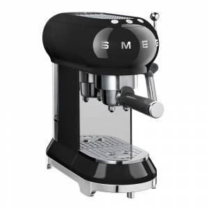 SMEG Retro Espressomaskin Svart