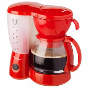 Bestron Kaffebryggare röd 800 W ACM6081R