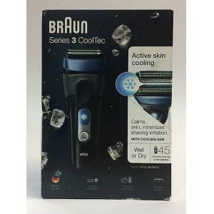 Braun Series 3 CoolTec CT2s Wet&Dry shaver with active cooling tech...