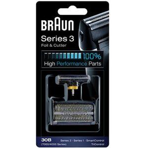 Braun Kombipack 30B Svart Braun