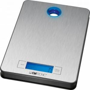 Clatronic KW 3412 Kitchen Scale Silver 1 stk