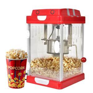 vidaXL Popcornmaskin kinostil 2,5 OZ