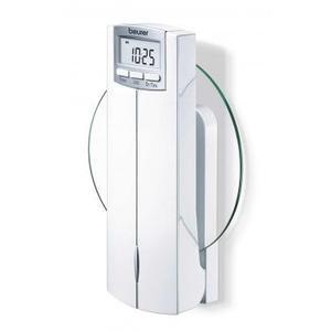 Beurer KS 52 veggmontert kjøkkenvekt med klokke/stoppeklokke - 5