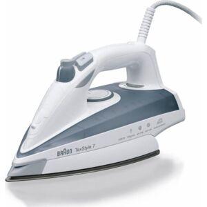 Braun - Dampstrygejern - Texstyle 7 - 2400w - Hvid Grå