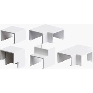 Plasfix 3440 Skjøte- og hjørnebiter til Plasfix, hvit 30 x 11,5 mm