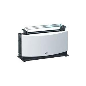 Braun MultiToast HT 550 - Brødrister - elektrisk - hvit