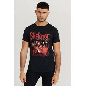 Rock Off Klær T-shirt T-shirts med logo eller trykk Male Svart