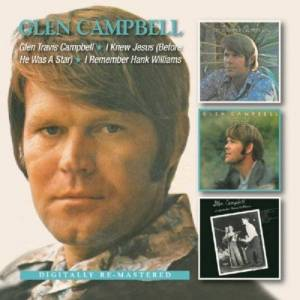 Border Music Norway AS (tidl. Indie Dist) Glen Travis Campbell / I Knew Jesus (Before He Was A Star) / I Remember Hank Williams