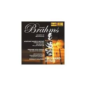 Acer Brahms; Mozart; Wolf-Ferrari: Orchestral Works