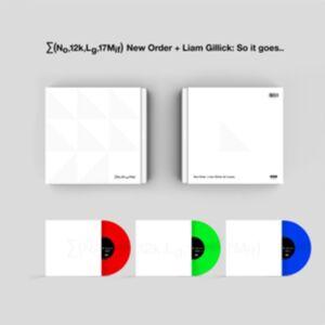 LG (No,12k,Lg,17mif) New Order + Liam Gillick: So It Goes.. (UK-import)
