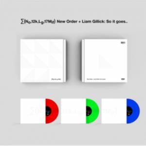 LG (No,12k,Lg,17mif) New Order + Liam Gillick: So It Goes.. (UK-import)
