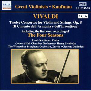 Dell Vivaldi: Il Cimento dell'Armonia e dell'invenzione, Op 8