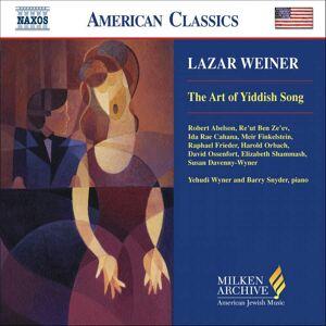 ART Weiner: The Art of Yiddish Song