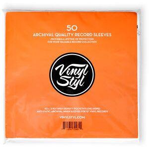 Vinyl Styl Archive Quality Inner Record Sleeve - 50pk (USA-import)