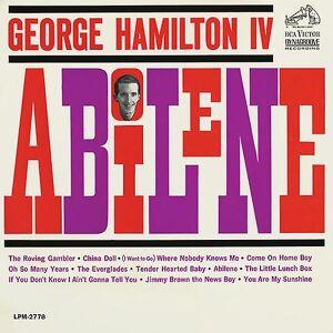 Sony George Hamilton IV - Abilene [CD] USA import