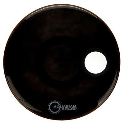 """Aquarian 20"""""""" Regulator Black Bass Drum"""
