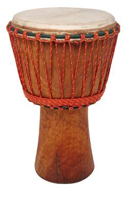 African Percussion BL122 Bassam Djembe B-Stock