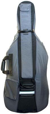Petz Cello Bag 3/4 GR/BK 24mm