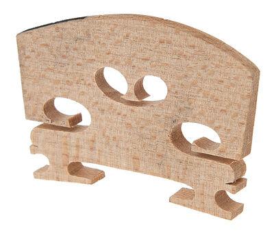 Aubert Violin Bridge 1/2 Ebony Inlay