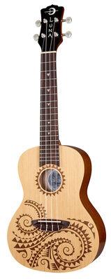 Luna Guitars Ukulele Concert Tattoo Spruce