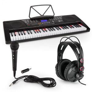 SCHUBERT Etude 225 USB harjoittelukosketinsoitin setissä kuulokkeet, mikrofoni ja plugiadapteri