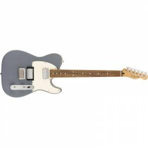 Fender Player Telecaster Hh Silver, Pf
