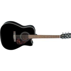 Yamaha FX370C Black Electric Acoustic Guitar