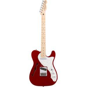 Fender Deluxe Telecaster Thinline, MN, CAR el-gitar candy apple red