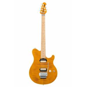 Axis Music Man Axis Trans Gold Flame Top