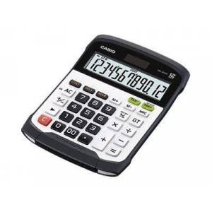Casio WD-320MT - Skrivebordskalkulator - 12 sifre - solpanel, batteri