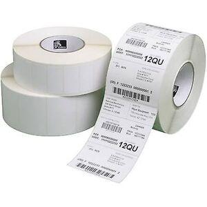 Zebra etiketten rulle 51 x 25 mm papir hvit 20640 eller flere PCer Permanent 3007201-T Universal etiketter