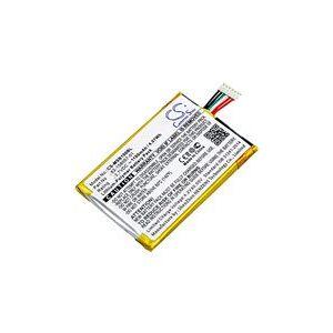 Motorola SB1B-SE11A0WW batteri (1100 mAh, Sort)