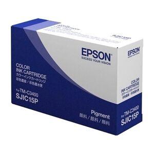 Epson Färgpatron, Epson ColorWorks C3400, cyan, magenta, gul