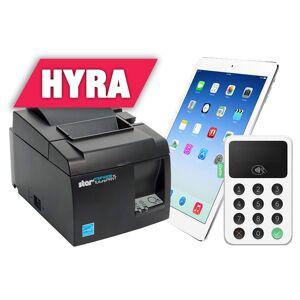 Apple Hyra iZettle-paket, iPad, kvittoskrivare och kortläsare