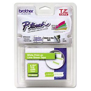 Brother TZe tape 12mmx5m white/Light grey