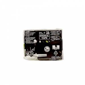 Brother 24mmx3m stenciltape black