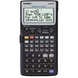 Casio Teknisk Räknare Casio FX-5800P, 142x73x1mm