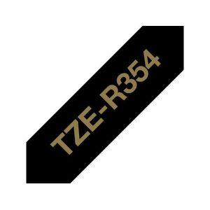 Brother Tape BROTHER Tze-R354 24mm Guld på Svar