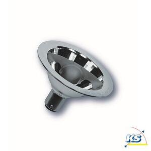 RADIUM Skylight, 12 Volt med Reflektor sølv, fatning BA15d 50 Watt / 24°