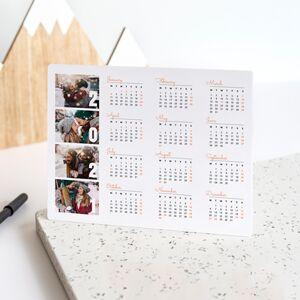 smartphoto Bordkalender aluminium