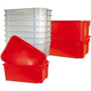 Lomax Stabelkasse 40 L, Rød