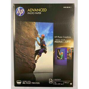 HP Advanced Fotopapir A4 25ark 250g