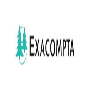 Exacompta Elastikmappe exacompta 1928, 3-klap, a4, ass. farver, pakke a 6 stk.