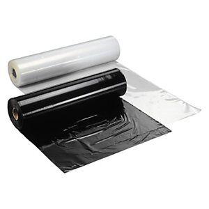Afdækningsfolie Transparent 1,5x251 m - 100my 35 Kg/Rl