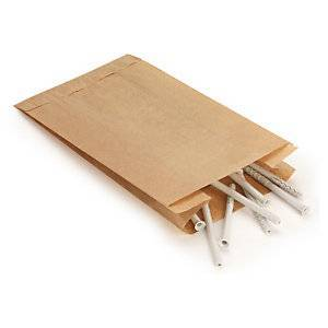 Papirpose M. Sidefals 250X330X60 (1000)