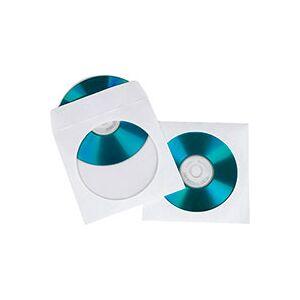 Hama CD/DVD Papir lommer (12,5x12,5cm) 100-pack